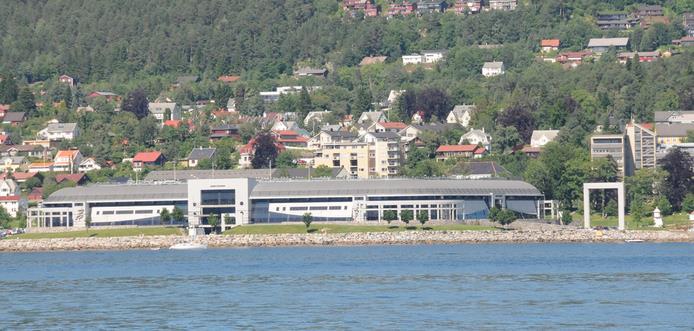 Molde Stadion sett fra avstand. Bilde: Flickr